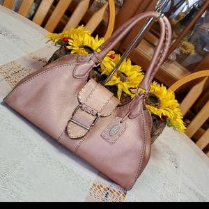 AUTHENTIC FENDI PINK SATCHEL